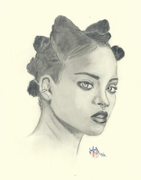 Rihanna by jinsei